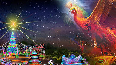 Phoenix Lights of the World Lantern Festival Enters the Countdown